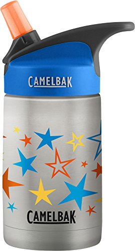 CamelBak Eddy Kids Vacuum Insulated Stainless Steel Bottle 12 oz, Retro Stars