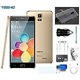 TEENO 6.0' HD Smartphone 4G Telephone Portable Débloqué 3Go + 32Go (Double Micro...
