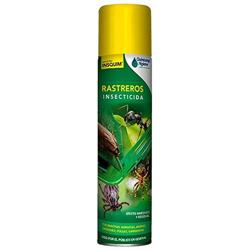 Insecticida Rastreros 750 ml Laca insecticida con efecto inmediato y residual sobre Cucarachas, Hormigas, Arañas, Pececillos de plata, Chinches, Pulgas, Garrapatas e insectos rastreros.