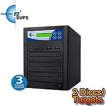 EZ DUPE Premium Multi Media Mirror DVD/CD/Blu-RaySD/CF/MS/MMC/USB Duplicator (2 Discs/Targets) (CD/DVD)
