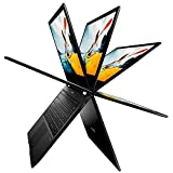 MEDION E3221 33,7 cm (13,3 Zoll) Full HD Touch Convertible Notebook (Intel Celeron N4000, 4GB DDR4 RAM, 128GB Flash-Speicher, Win 10 Home S Modus) schwarz