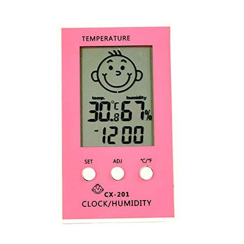 Szaerfa Digitales Thermometer Hygrometer Innen LCD-Bildschirm Zimmer Thermometer Hygrometer Luftfeuchtigkeit für Küche Schlafzimmer Baby Zimmer Celsius oder Fahrenheit