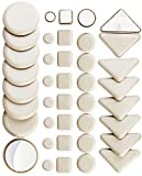 40 Pack Combo Self Stick Furniture Glider for Carpet Furniture Moving Slider Carpet Slider,Self-Adhesive Furniture Slider,Moving Pads Moving Furniture Sliders,Self Adhesive Sliders Furniture Glides