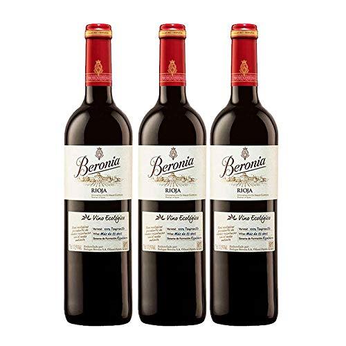 Vino tinto Beronia Ecologico de 75 cl - D.O. La Rioja - Bode
