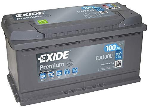 EXIDE PREMIUM EA 1000 12V 100AH Starterbatterie Neues Modell 2014/15