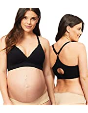 Cake Maternity Tutti Frutti Women's Seamless Wire Free Bamboo Nursing Bra (for Us B-e Cups) dames beha met diepe uitsnijding