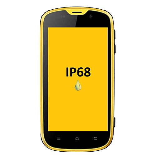 puissant E & L W5S Robust smartphone, IP68 waterproof, shockproof, dustproof 4.0 inch quad core processor …