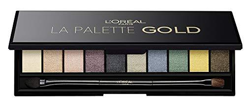 L'Oréal Paris - Palette Ombretti Color Riche, La Palette Gold, 1 pezzo (1x7 g).
