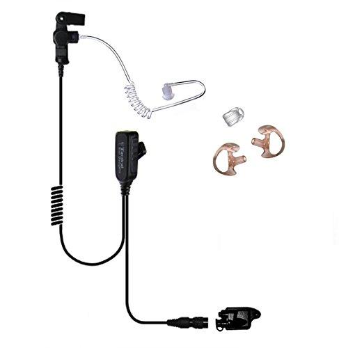 Tactical Ear Gadgets EP1327QR Hawk Lapel Mic with Quick Release for M-A/Com Harris Jaguar