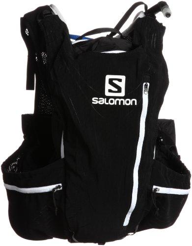 Salomon Advanced Skin 12 Trink-Rucksack-Aluminium Black-M/L