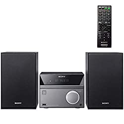 commercial Sony's compact home stereo audio system with wireless Bluetooth streaming NFC and micro Hi-Fi … shelf stereo systems