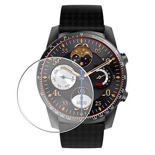 Vaxson 3 Stück Schutzfolie, kompatibel mit Smartwatch smart watch KW99 PRO, Displayschutzfolie TPU Folie [ nicht Panzerglas ]
