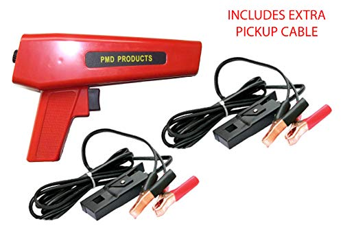 PMD Products Timing Light Xenon Inductive with 0 to 60 Degree Dial Advance Ignition Spark Checker