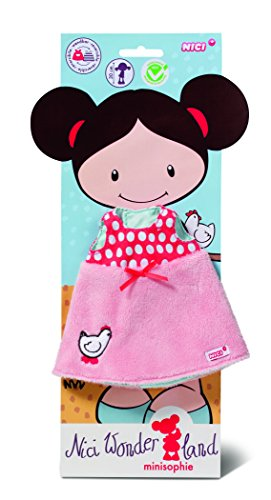 Nici 37891 - Wonderland Kleid für Puppe, Plüsch, 30 cm