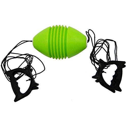 Best Sporting Boingballspiel für 2 Spieler, Ball grün, Griffe schwarz