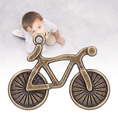 FOTABPYTI Colgantes Modelo de Bicicleta, artesanía Exquisita 50 Piezas Colgantes de Bicicleta para Suministros de Bricolaje
