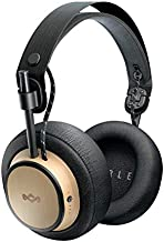 House of Marley Exodus: Over-Ear Headphones with Microphone, Wireless Bluetooth Connectivity, and 30 Hours of Playtime