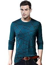 EYEBOGLER Printed Full Sleeve Men's T-Shirt (EBT317)