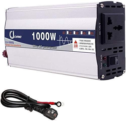 Potencia del inversor 600w-6000W de onda sinusoidal pura Dc inversores de potencia DC 12V / 24V / 48V / 60V a 220V AC Power Inverter de alta eficiencia for teléfonos inteligentes de la tableta de mama
