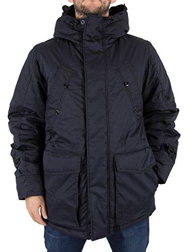 G-STAR RAW Herren Whistler Twill HDD Short Jacke, Blau (Mazarine Blue 4213), Large