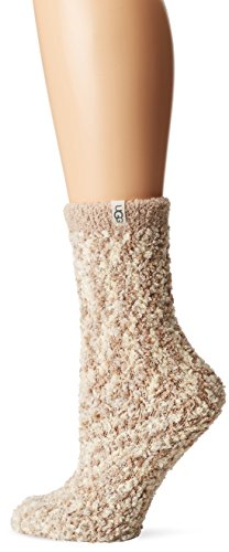 UGG Women's Cozy Chenille Sock, cream O/S