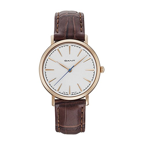GANT Damen Analog Quarz Uhr mit Leder Armband 7640165594315