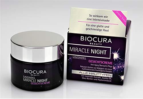 Biocura Miracle Night Lavendel Gesichtscreme