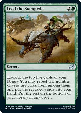 Magic: The Gathering - Lead The Stampede - Ikoria: Lair of Behemoths