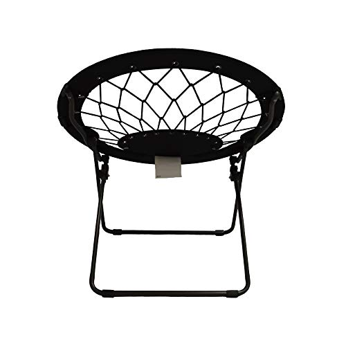 Impact Canopy 460060002-VC Web Folding Bungee Chair, Black