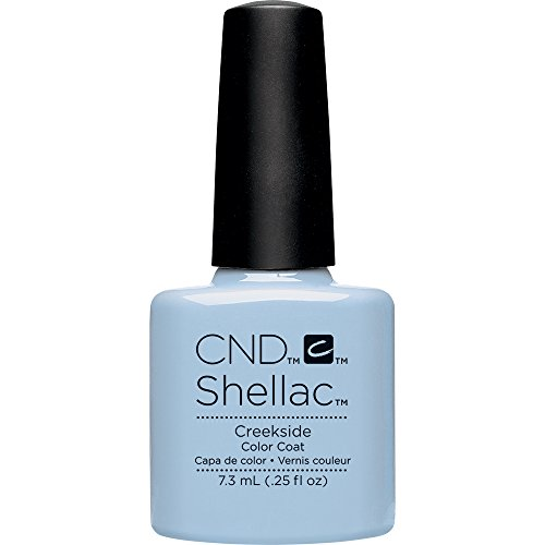 CND Shellac Nail Polish, Creekside, 0.11 lb.