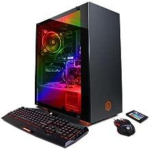 CyberPowerPC BattleBox Ultimate SLC8500A Gaming PC (AMD Ryzen 7 2700X 3.7GHz, 16GB RAM, NVIDIA GeForce GTX 1080 Ti 11GB, 240GB SSD, 2TB HDD, WiFi & Win 10 Home) Blk