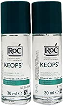 Roc Pack Keops Deodorant Roll On Intense Sweating 2x30ml