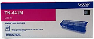 Brother Genuine TN441M Printer Toner Cartridge, Magenta, Page Yield Up to 1800 Pages, (TN-441M)