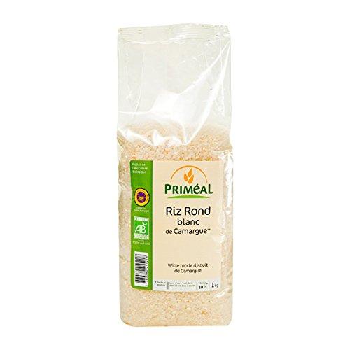 Priméal Riz de Camargue Rond - Bio - Blanc 1 kg