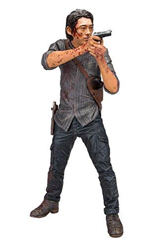 Walking Dead TV Glenn Legacy Edition Deluxe Figura de acción, Multicolor, 25,40 cm(10 Pulgadas) (McFarlane 14719-3)