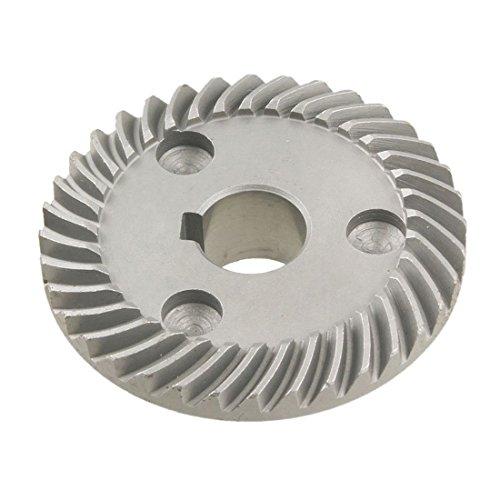 Cikuso 2 Pcs Reemplazo espiral engranajes conicos para Makita 9553 Amoladora de angulo
