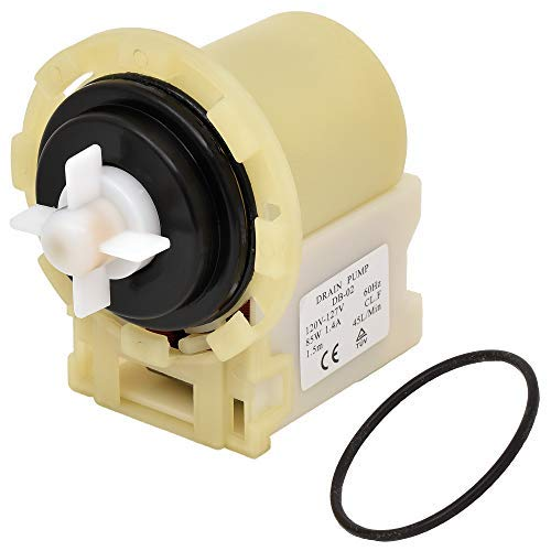 8540024 W10130913 Washer Drain Pump Replacement part by Romalon Compatible With Kenmore Whirlpool Inglis Amana Washer Replaces PS11757304, AP6023956, WPW10730972VP, 8540025, 8540027