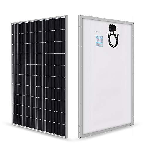 Renogy 280 Watt 24 Volt Panneau solaire Monocristallin en Cadre noir