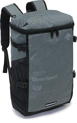 ムーブスポーツ デサント リュック スクエア バックパック 大容量 高校生 大学生 通学 通勤 四角 スポーツ メンズ レディース/スクエア バックパック DMALJA07 (GRYM)