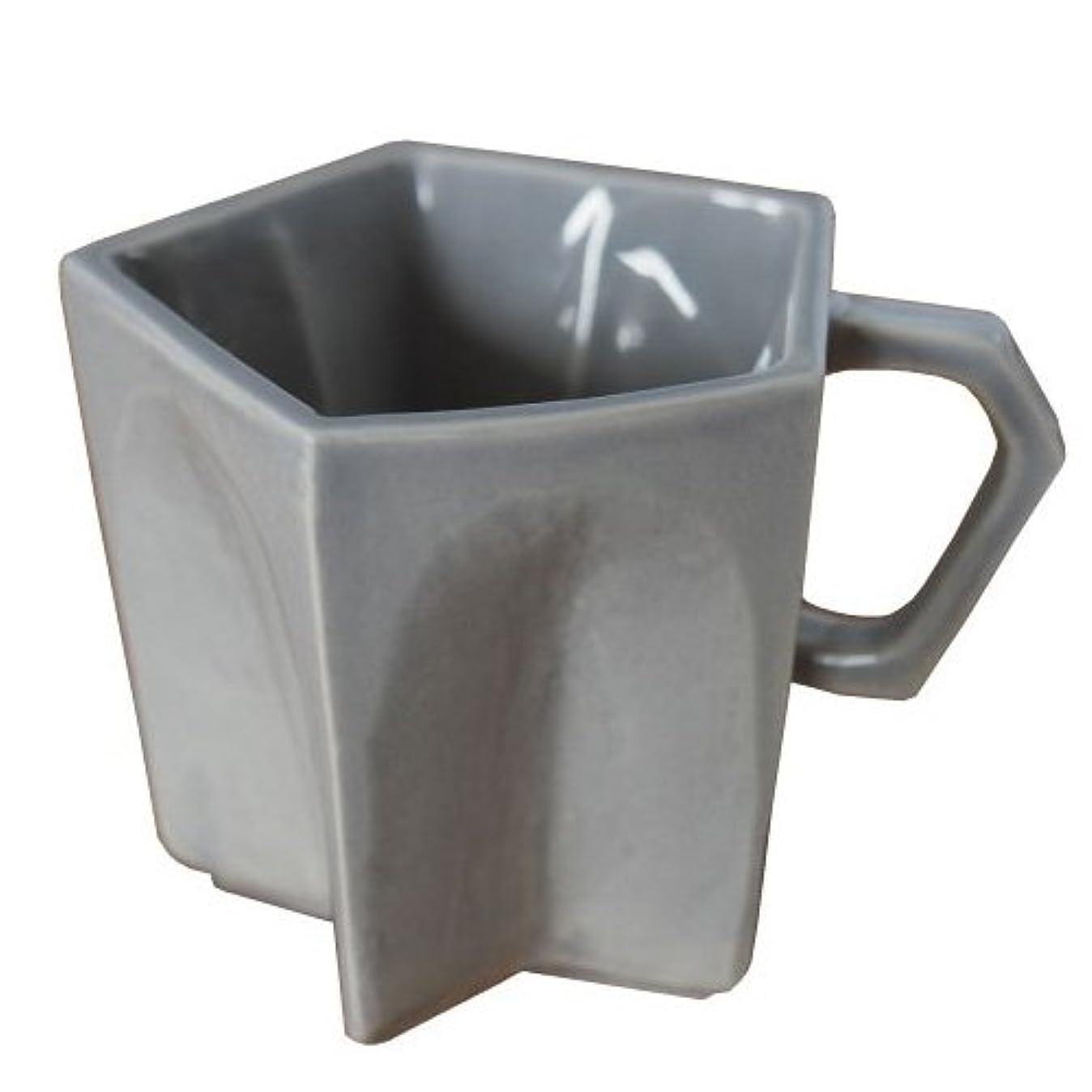 怪しいピンポイント吸収するトゥインクル スター マグ Twinkle Star Mug [ グレー ] 磁器 星形 マグカップ