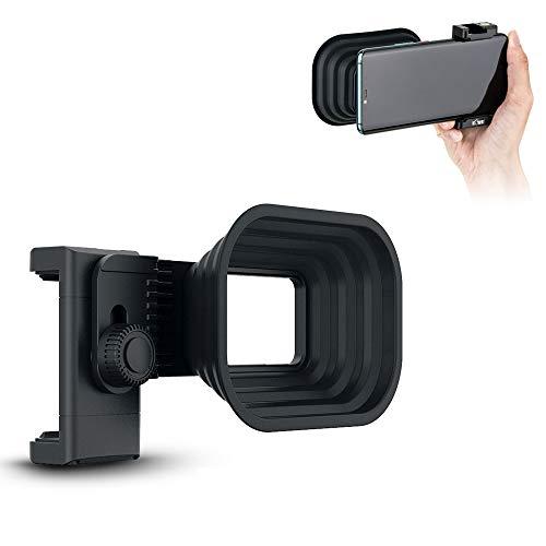 Kiwifotos JJC - Parasol de silicona para cámara de smartphone, antirreflejo, para...