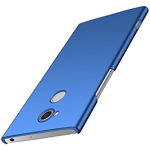anccer Sony Xperia XA2 Ultra Hülle, [Serie Matte] Elastische Schockabsorption & Ultra Thin Design für Sony Xperia XA2 Ultra (Blue)