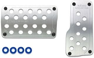 Razo RP123A Super Grip Silver Manual Transmission Pedal Set 3 Piece