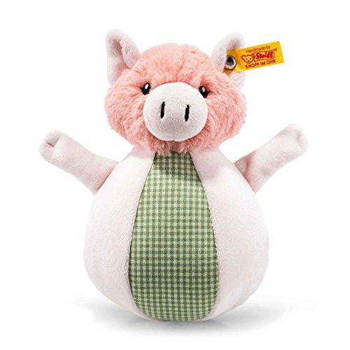 Steiff 240966 Schwein Piggilee Klangspiel, rosa