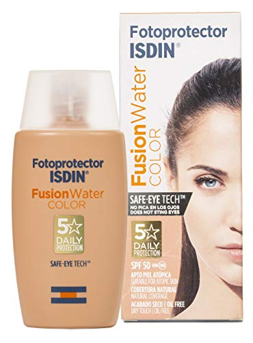 Fotoprotector ISDIN Fusion Water COLOR SPF 50 50 ml,
