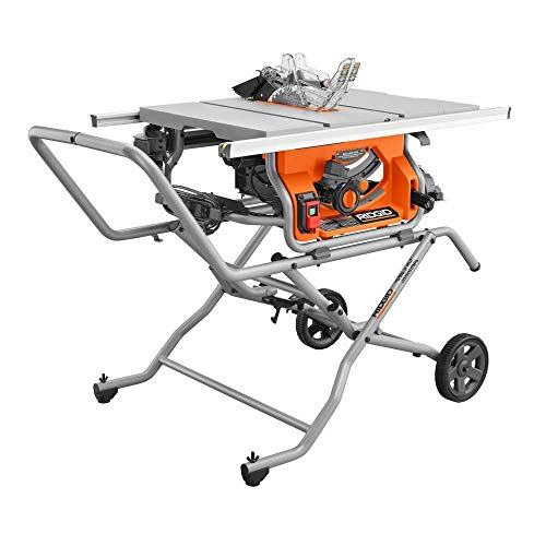 RIDGID 10 in. Pro Jobsite Table Saw with Stand R4514