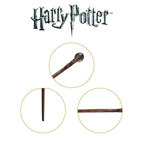 The-Noble-Collection-Professor-Remus-Lupin-Character-Wand-129in-33cm-Harry-Potter-Wand-With-Name-Tag-Harry-Potter-Film-Set-Movie-Props-Wands