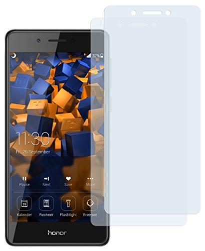 mumbi Schutzfolie kompatibel mit Huawei Honor 6C Folie klar, Bildschirmschutzfolie (2X)