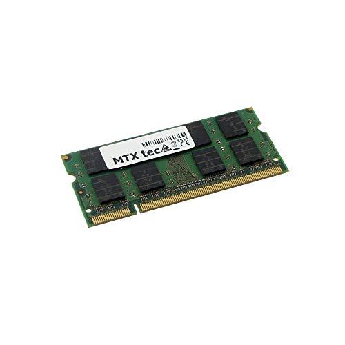 Mtxtec Memoria 2GB RAM para hp Pavilion dv6000