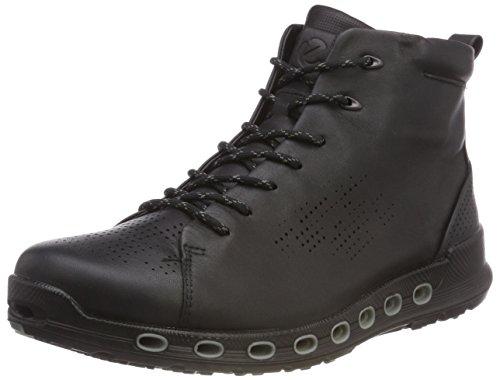 ECCO Herren Cool 2.0 Hohe Sneaker, Schwarz (Black Dritton 1001), 43 EU